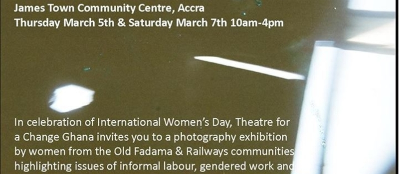 Women and Work Photography Exhibition