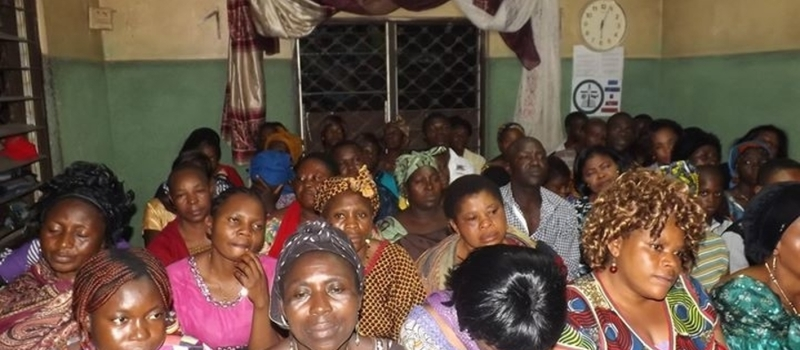 TESSY NWOSU MINISTRIES WEEKLY SATURDAY HOLY GHOST NIGHT IN MENZA, BAMENDA, CAMEROON