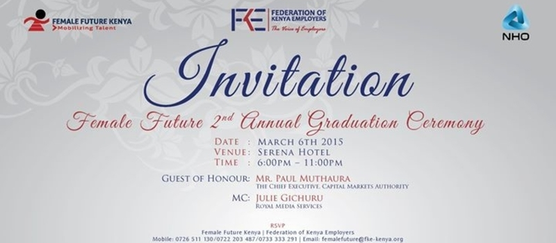 2nd Annual Graduation Ceremony of the Female Future Leadership Programme
