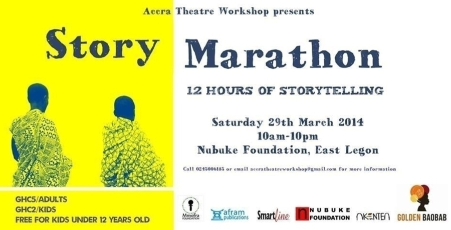 Story Marathon (12 Hours of Storytelling)