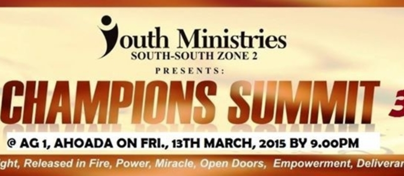 South-South Zonal Youth Champions Summit - Season 3