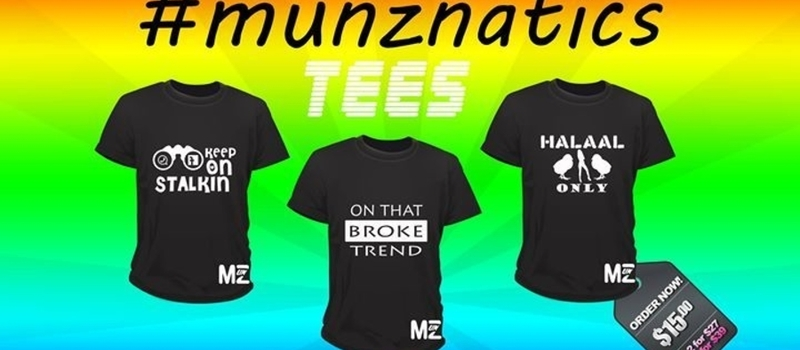 Win a #munznatics tee! (March)