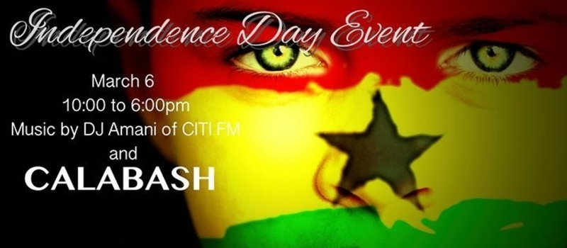 Calabash at the Accra Goods Market - Independence Day Event