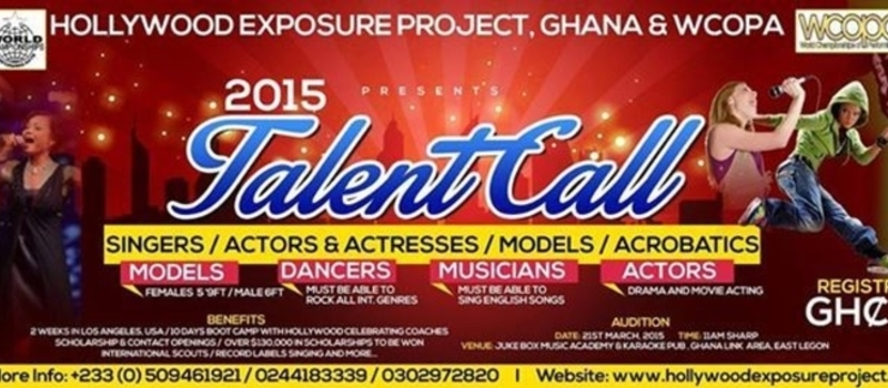 WCOPA Ghana Auditions