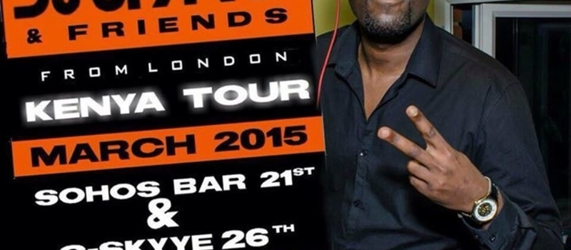 DJ SPARKS  (UK) KENYAN  TOUR (MUSIC IS M TRIBE)