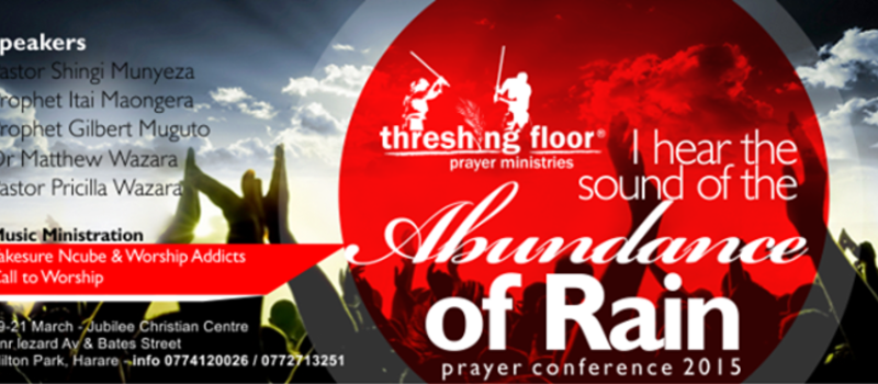 I hear the Sound of the Abundance of Rain Prayer Conference