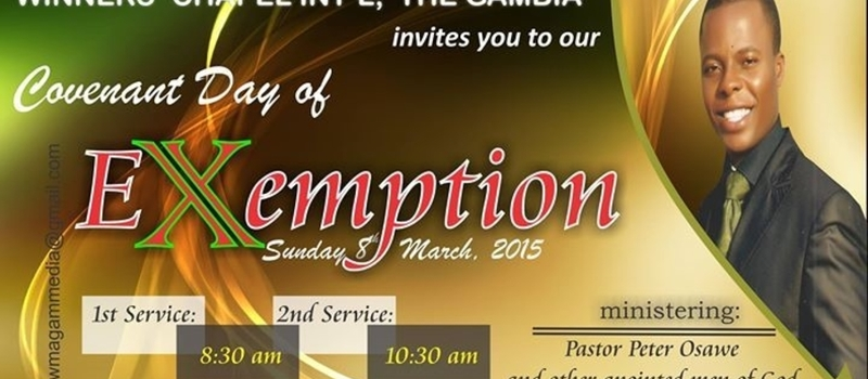 Covenant Day of Exemption