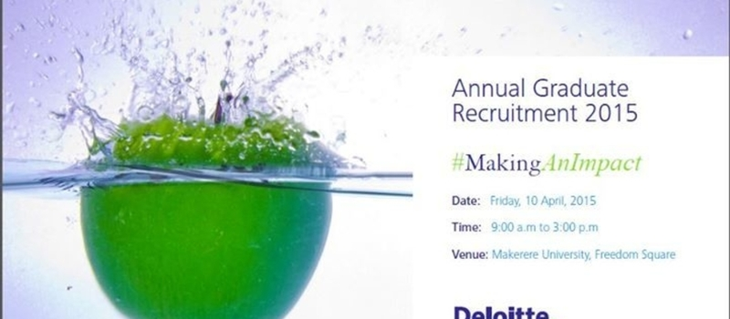 Annual Graduate Recruitment 2015 - Kampala Career Fair