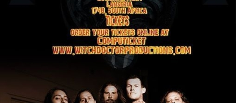Carnifex Live In South Africa 2015