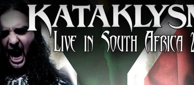 Kataklysm Live In South Africa 2015