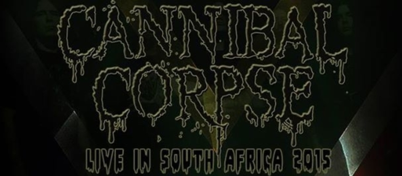 Cannibal Corpse Live In South Africa 2015