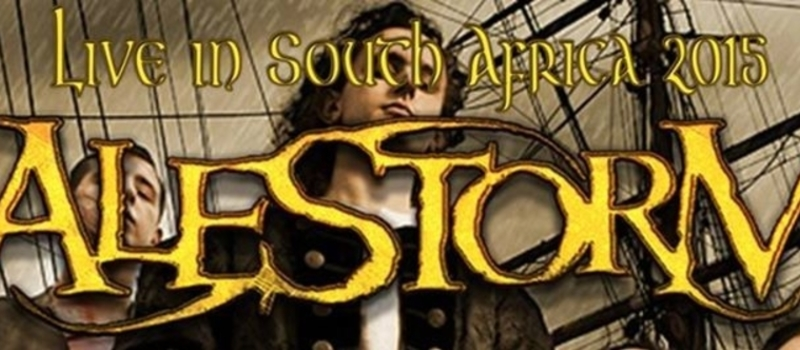 Alestorm Live In South Africa 2015