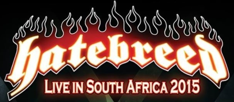 Hatebreed Live In South Africa 2015