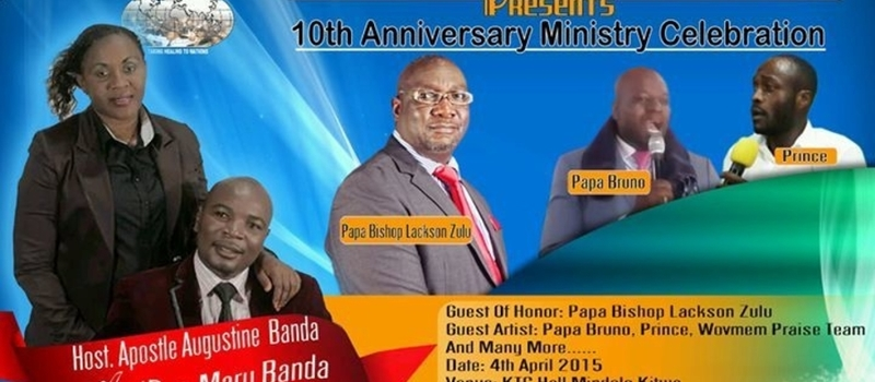 10th Year Ministry Celebration and Apostle' Shower