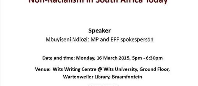 Black-Consciousness, Pan-Africanism and Non-Racialism in South Africa Today