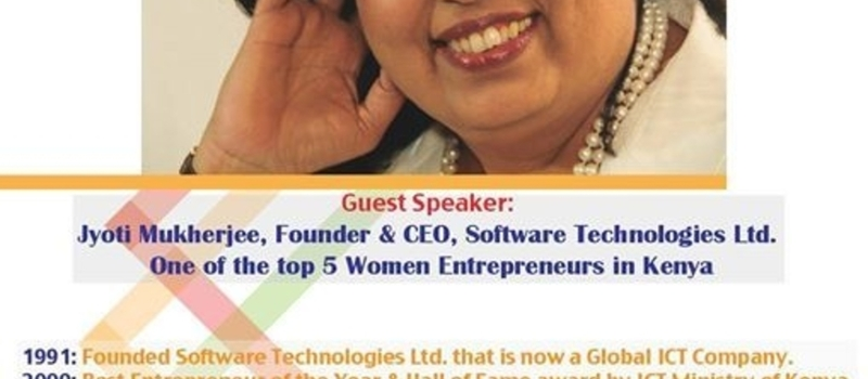 Save the Date! MBA conversations with Jyoti- Top 5 women Entrepreneurs in Kenya
