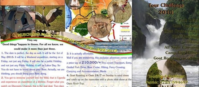 The Ultimate Murchison Falls Corporate Tour Challenge 2015.