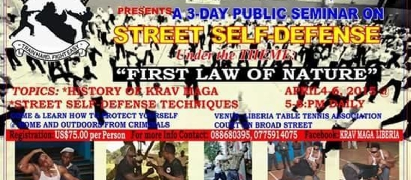 KRAV MAGA SELF DEFENSE LIBERIA INC.