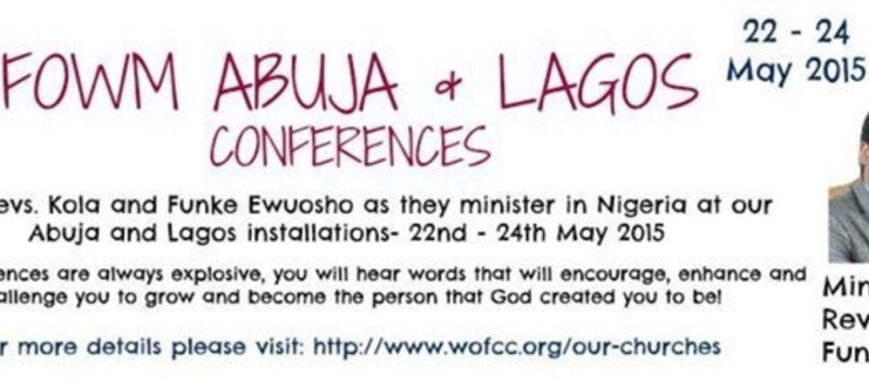 WOFCC Lagos & Abuja Conferences