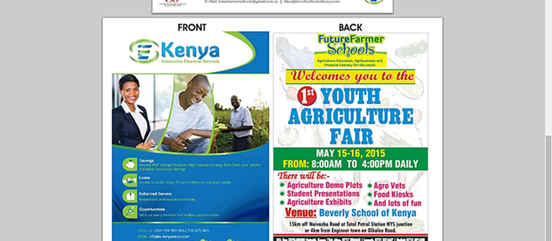 1st Youth Agriculture Fair 2015