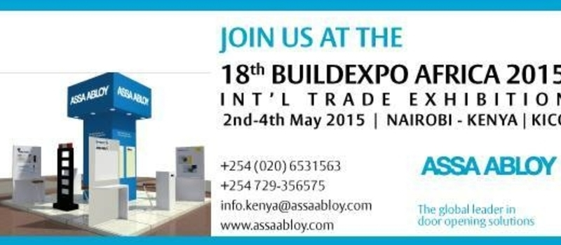 18th BuildExpo Africa 2015