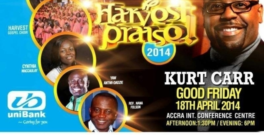 Harvest Praise 2014 with KURT CARR