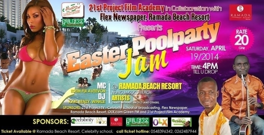 Easter Pool Party Jam