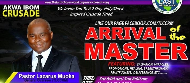 UYO 2015: ARRIVAL OF THE MASTER