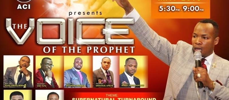 THE VOICE OF THE PROPHET CONFERENCE