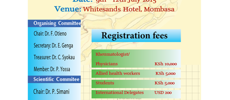 Arthrheuma Society of Kenya Annual Scientific Conference