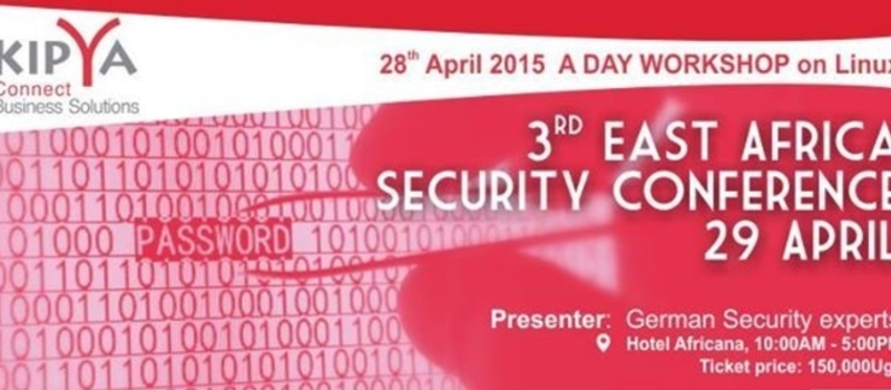 3rd East Africa Security Conference on 29th April 2015