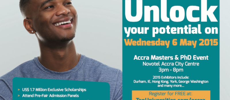QS GRAD School Tour (Accra Masters & PhD Event)
