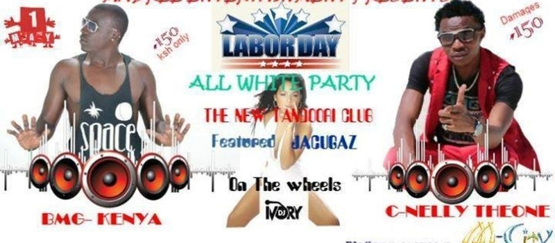 LABOURDAY ALL WHITE PARTY