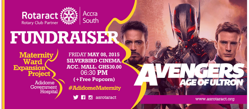 Avengers, Age of ultron Fundraiser movie show