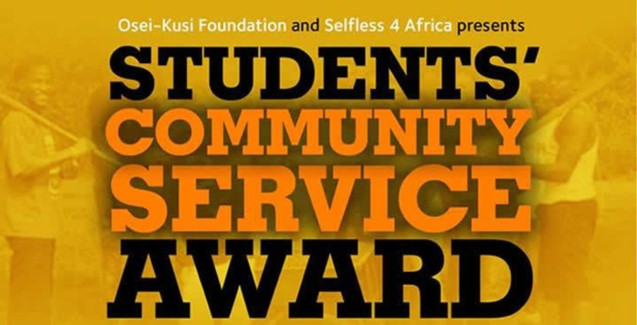 Students' Community Service Award (Application)