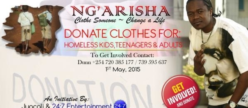 NG'ARISHA INITIATIVE - CLOTHE SOMEONE SAVE A LIFE