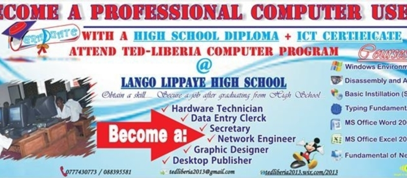 LANGO LIPPAYE HIGH SCHOOL ICT PILOT PROJECT