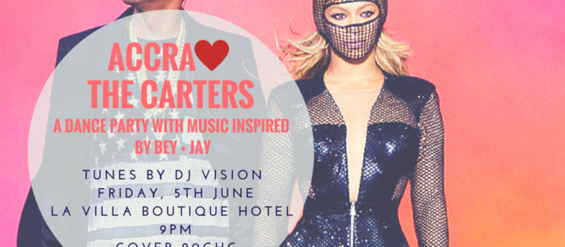 Accra Loves The Carters: Beyonce + Jay Z