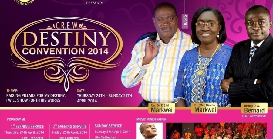 C.R.E.W Destiny Convention 2014
