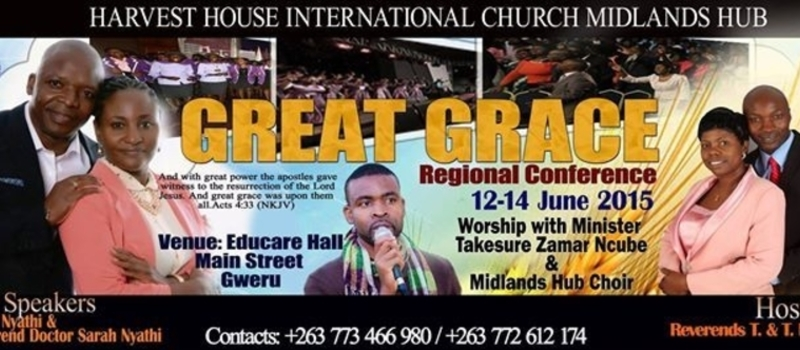 GREAT GRACE! MIDLANDS REGIONAL CONFERENCE