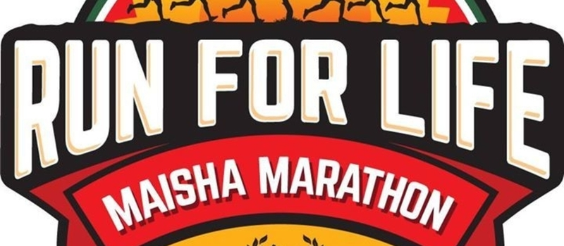 Maisha Project Run for life Marathon.
