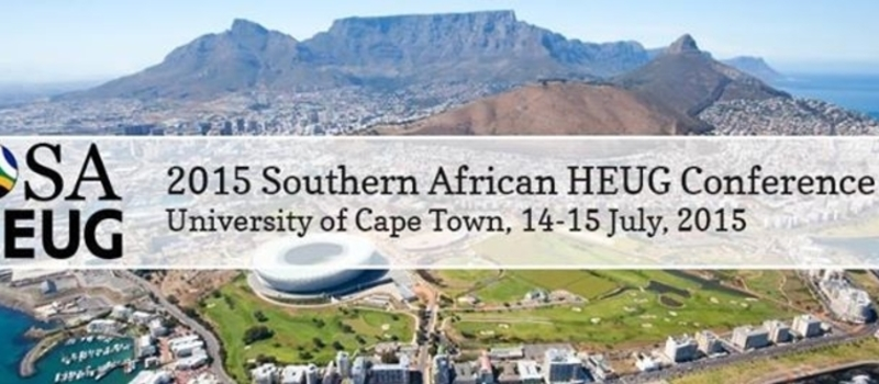 2015 Southern African HEUG Conference