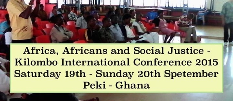 Africa, Africans and Social Justice - 3rd Kilombo International Conference 2015