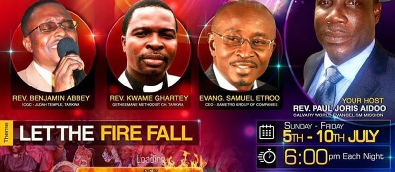 Holy Ghost Fire Conference 2015