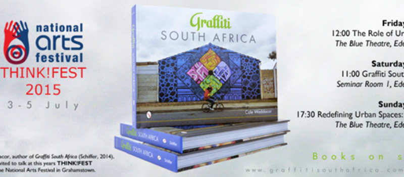 Graffiti South Africa BOOK at THINK!FEST 2015, Grahamstown