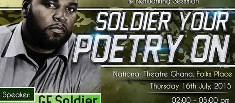 Soldier Your Poetry On -- Poetry Workshop & Networking Session