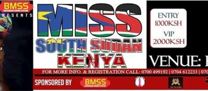 MISS SOUTH SUDAN KENYA BEAUTY CONTEST