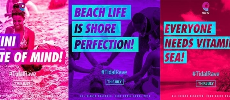 Road Concert Beach Party #TidalRave
