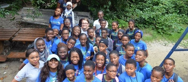 2015 STEM CAMP FOR AFRICAN GIRLS