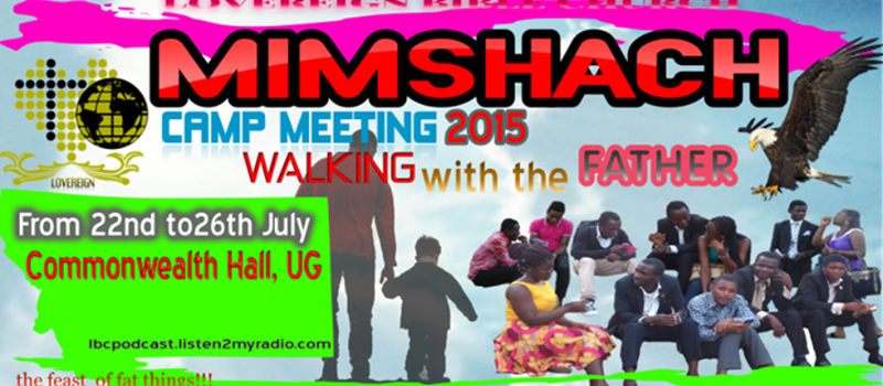 MIMSHACH CAMP MEETING 2015